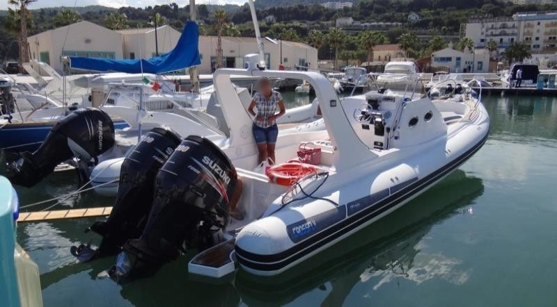 Orcaboot 960 RIB Luxus & Speed